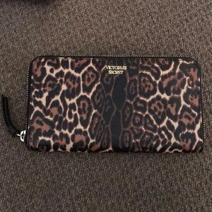 Victoria Secret Cheetah-print Wallet